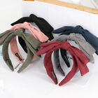 Women's Bow Knot Headband Hairband Hair Hoop Clasps Double Layer Accessories