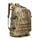 3D Hiking Camping Bag Army Military Tactical Trekking Rucksack Backpack Camo