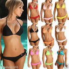 Sexy Womens Bandage Bikini Set Push-up Bra Swimsuit Bathing Suit Beach Swimwear