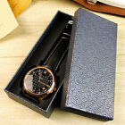 High-end Wrist Watch Storage Box Chic Gift Case for Bracelet Rings Jewelry JHTF6