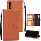 Luxury Leather Wallet Card Slim Case Magnetic Flip Cover For Huawei P20 Lite/Pro