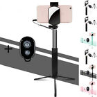 Practical Extendable Wireless Selfie Stick Phone Holder Remote Shutter Tripod T1