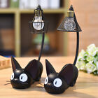 Cute Black Cat Night Light Table Lamp Home Bedroom Decoration Kids Gift