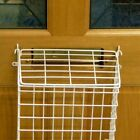 LETTER CAGE Mail Catcher Box Post Mailbox Pet Security Guard Basket BLACK WHITE