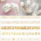 Sweet Pink Foil Paper Washi Tape Kawaii Stationery Scrapbooking Decorative Tapes on eBay