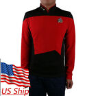 Star Trek Red Shirt Starfleet Operations Uniform Star Trek TNG Cosplay Uniforms on eBay