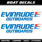 Evinrude Outboards decals stickers XXL sailboat marine boat motor sailing
