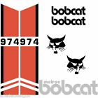 ANY MODEL Bobcat 974 DECALS Stickers Skid Steer loader New Repro decal Kit