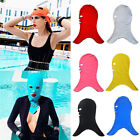 Durable Swimming Elastic Cap Face Protect Mask For Swimming Anti-UV Protect Hair