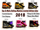 Top-O-Matic Rolling Machine Limited Edition Color Tobacco Injector Cigarette NEW