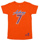 Adidas NBA Youth Girls New York Knicks Carmelo Anthony #7 Player's Tee, Orange