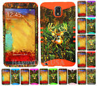 KoolKase Hybrid Silicone Cover Case for Samsung Galaxy Note 3 - Camo Mossy Deer