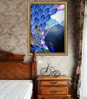 3d Painting Peacock 45 Fake Framed Poster Home Decor Print Painting Unique Art