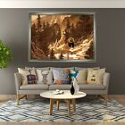 3D Jungle Bear 64 Fake Framed Poster Home Decor Print Painting Unique Art Summer