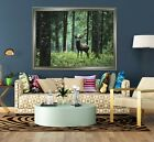 3d Grove Deer 556 Fake Framed Poster Home Decor Print Painting Unique Art Summer