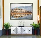 3D Town River 656 Fake Framed Poster Home Decor Print Painting Unique Art Summer