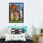 3d Paintings Forest 675 Fake Framed Poster Home Decor Print Painting Unique Art