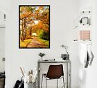 3d Forest Aisle 555 Fake Framed Poster Home Decor Print Painting Unique Art