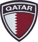 Qatar Flag Crest Embroidered Patch