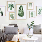 modern country style decorating - Nordic Style Pastoral Green Plant Leaves Modern Minimalist Decorative Painting