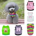 Summer Pet Dog Cat Vest Shirt Clothes Puppy Dog Kitten Cute Vest Costume Apparel