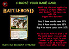 MTG Battlebond BBD Choose your Rare Card - New - Buy 2 save 10%