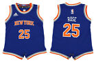Adidas NBA Infant New York Knicks Derrick Rose #25 Replica Coverall, Blue