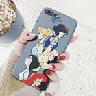 Cartoon Silicone Disney Snow White Princess TPU Case For iPhone X 8 7 6/6s Plus