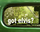 2 ELVIS BAND DECALs Got Sticker For Car Window Truck Bumper RV Laptop 4x4 Jeep