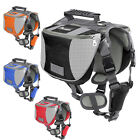 Pet Saddle Bag Harness Dog Backpack Carrier for Camping Hiking Outdoor Travel