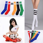 Women's Thigh High Over-Knee Athletic Soccer Rugby Sports Fashion Tube Socks NEW