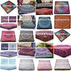 Indian Mandala Art Square Indoor Outdoor Deluxe Pet Dog Bed Cover