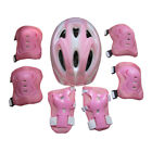 7pcs Kids Bike Protective Gear 58-62cm Helmet, Knee Elbow Pads Wrist Guards