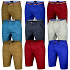 Mens Chino Shorts Cotton Summer Half Pants Casual Jeans Cargo Combat New