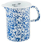 Crow Canyon Home Enamelware 1 Quart Measuring Pitcher Utility Cup