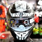 ALL NEW HJC CL-17 Marvel PUNISHER MC-5 WHT/BLACK Street Motorcycle Riding Helmet