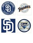 San Diego Padres Themed 4x4 Ceramic Coasters Handmade on Ebay