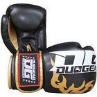 BLACK 'DG2018' BOXING SPARRING AND PADWORK THAIBOXING KICKBOXING GLOVES