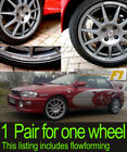 Rally Wheel Rim Decal sticker to fit Speedline Corse flowforming sold as 1 pair