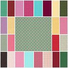 4mm Dots 100% Cotton Poplin Fabric Dressmaking Patchwork  Spots