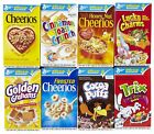 General Mills Cereals ~Cheerios, Cinnamon Toast Crunch & –Many Other Choices