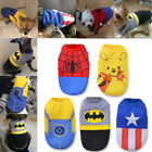BATMAN Dog Clothes Coat Sweater Jumper Puppy Cat Hoodie For SMALL Breeds XS-XL