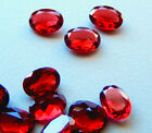 Madagascar Garnets  Oval Shapes in 6x4 mm or 7x5 mm  All Natural   1 Piece