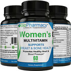 Multivitamin for Women with Essential Vitamins, Full Spectrum Nutrition $4.97 USD on eBay