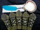 Sage & Lavender Smudge Stick Starter Kit With Feather & Shell Variable Pack Size