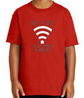 Home Wifi connects Kid's T-shirt Gift for Geek Computer IT Tee for Youth - 2162C