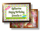 PERSONALISED DOUBLE SWEET BOX IDEAL BIRTHDAY ANNIVERSARY OR ANY OCCASSION GIFT