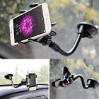 US Universal Flexible 360° Car Windshield Mount Holder Clip Cradle For Cellphone