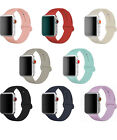 Replacement Silicone Sport Band Strap For Apple Watch iWatch