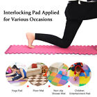 6/12Pcs Exercise Floor Mat Fitness Puzzle Gym Pad Workout We